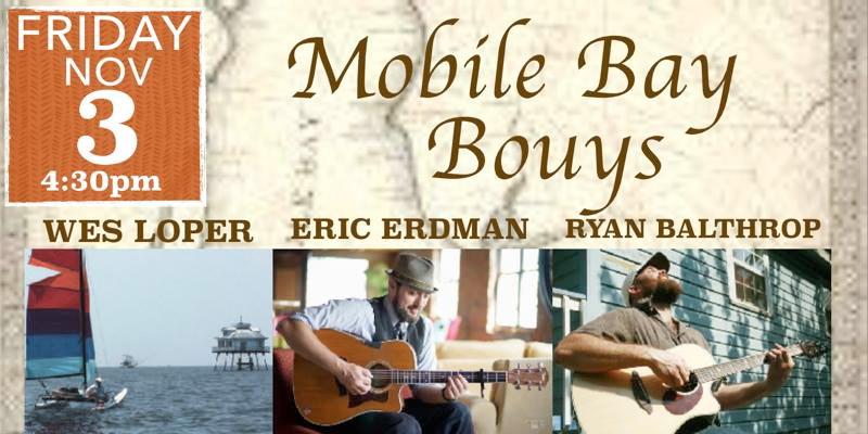 Mobile Bay Bouys – Wes Loper, Eric Erdman & Ryan Balthrop