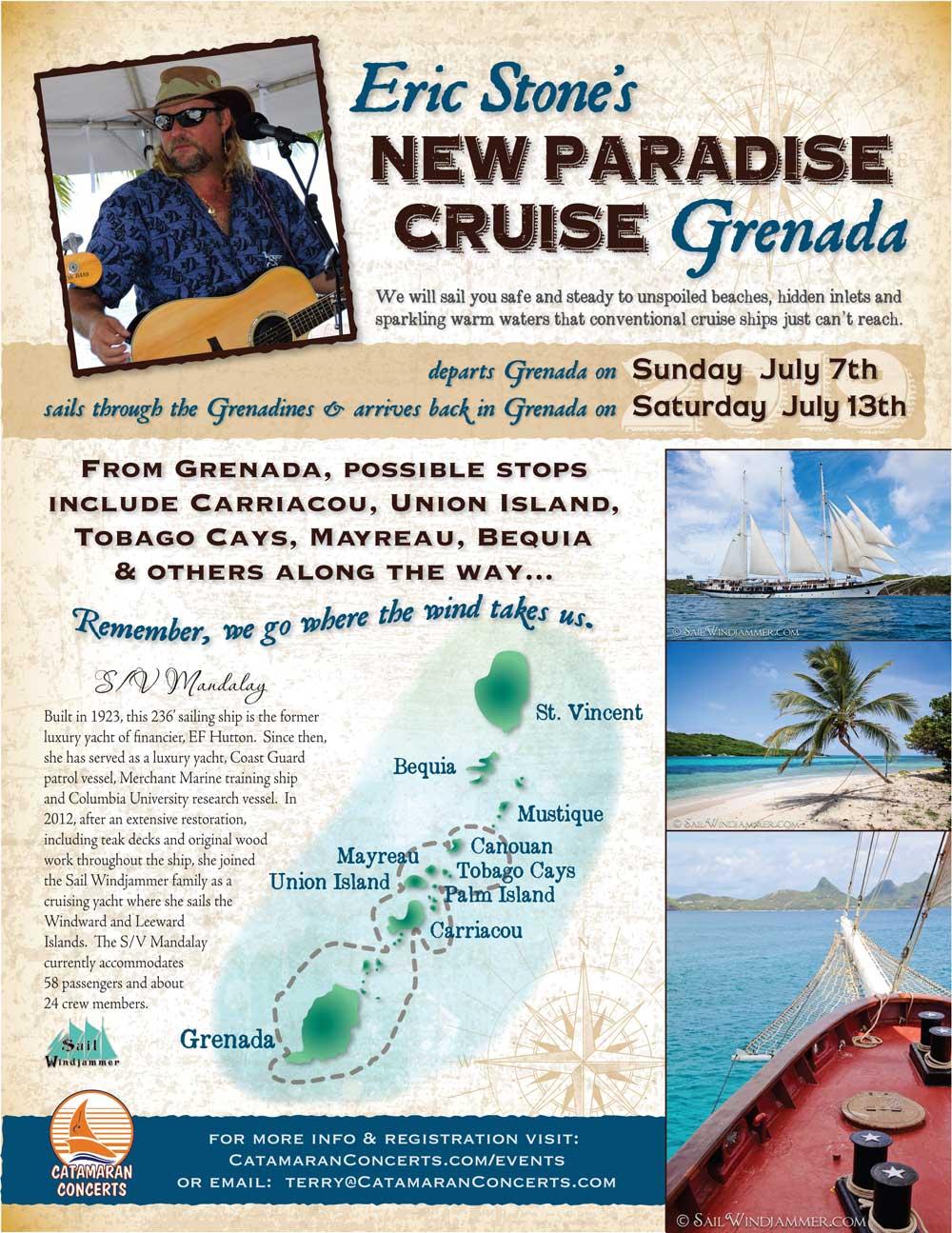 Eric Stone's New Paradise Cruise: Grenada