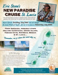 Eric Stone New Paradise Cruise to St. Lucia flyer