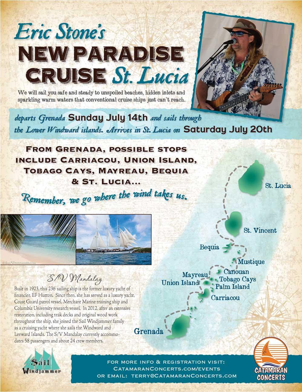 Eric Stone's New Paradise Cruise: St.Lucia